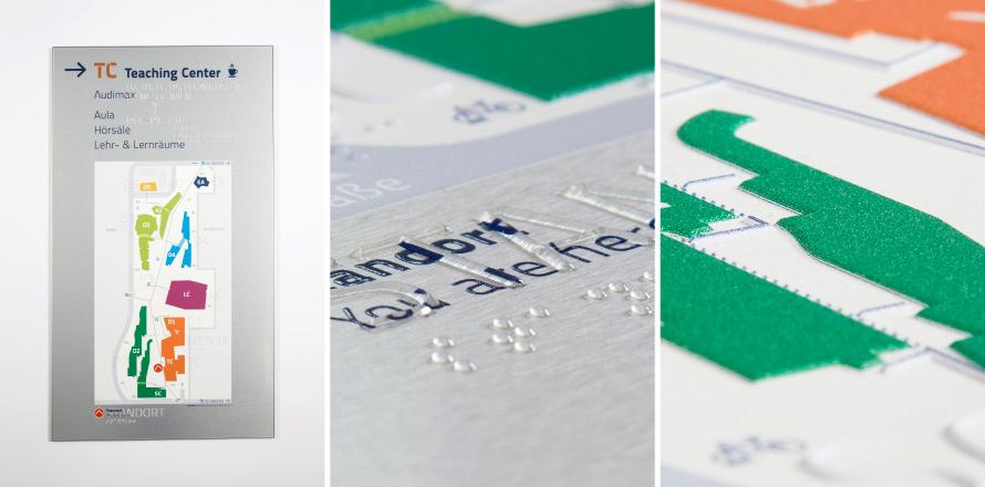 Рельефная печать, печать шрифтом Брайля с идеальной точностью и самым маленьким размером точки.