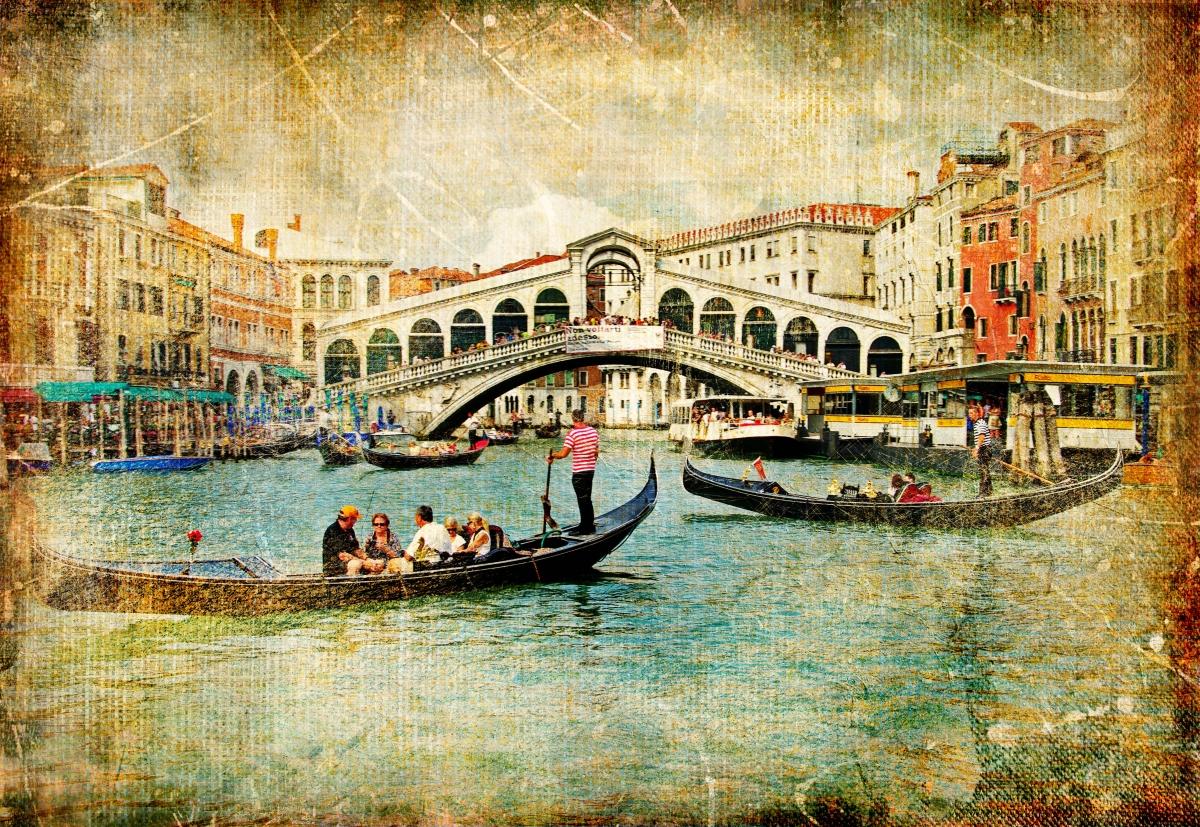 Старинные открытки города, богатыри